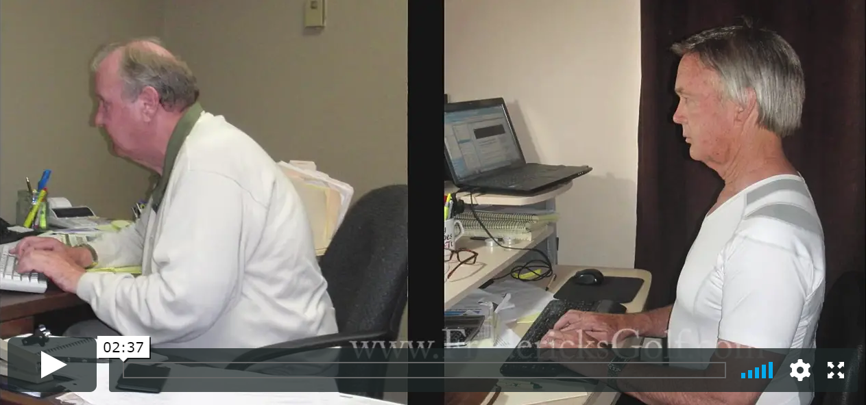 Alignmed Shirt Posture Video