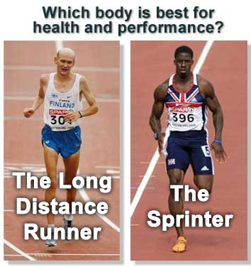 Long Distance vs Sprinter