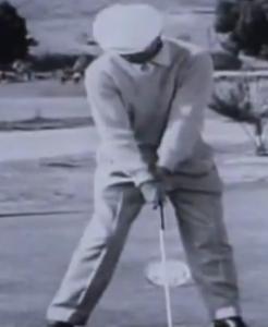 Ben Hogan setup in golf
