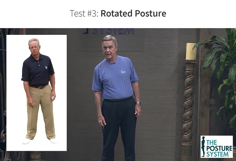 Rotated Posture